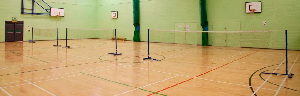 Badminton, Basketball and Netball Hire