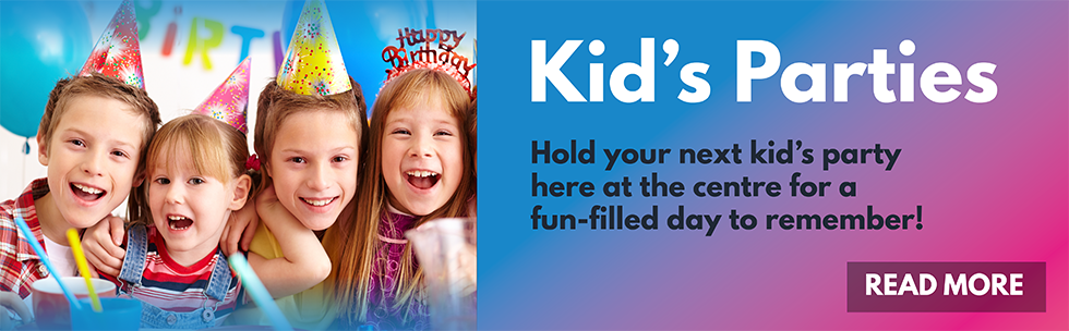 Kids Parties at the Centre